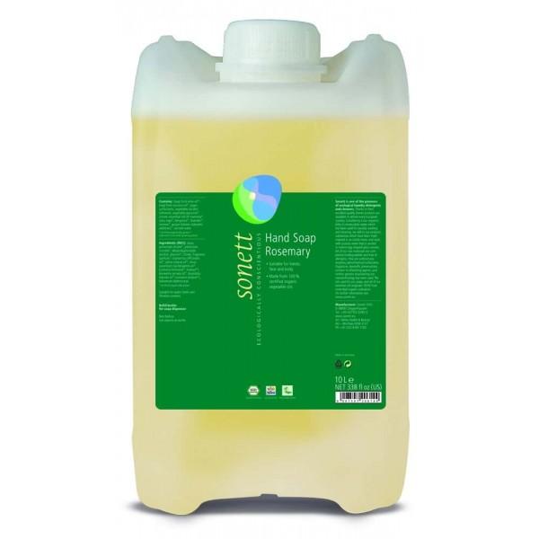 Sonett Sapun lichid ecologic Rozmarin 10L