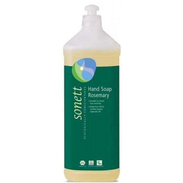 Sapun lichid ecologic Rozmarin 1L, Sonett