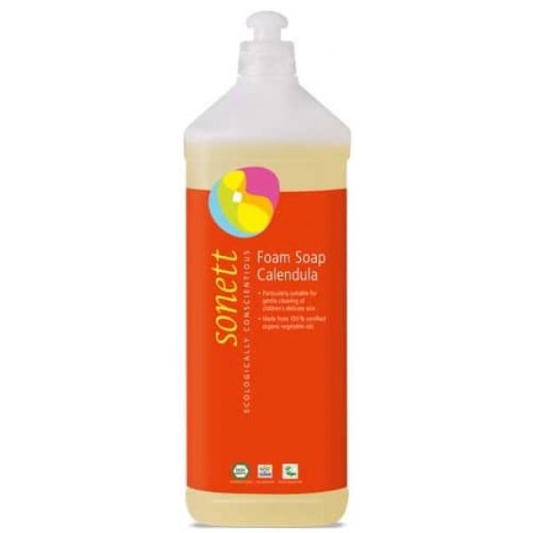 Sapun lichid ecologic spumant cu galbenele pt. copii 1L, Sonett