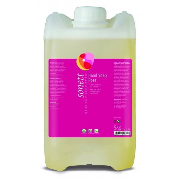 Sonett Sapun lichid ecologic Trandafiri 10L