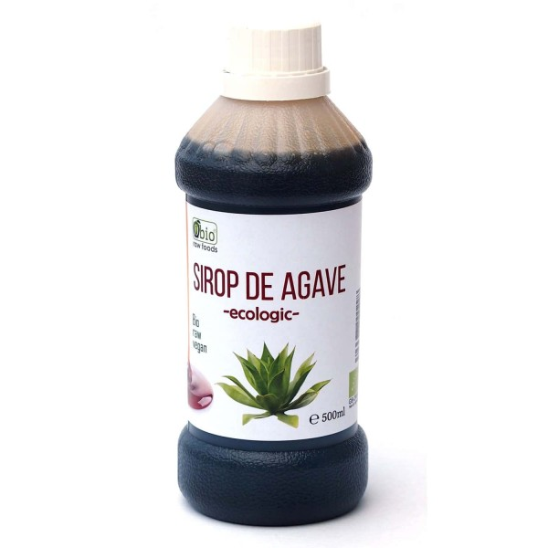 Sirop de agave dark raw bio 500ml