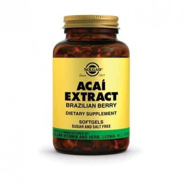 Solgar Acai Extract 60 cps