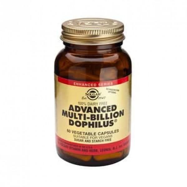 Solgar Advanced Multi-billion Dophilus 60 cps
