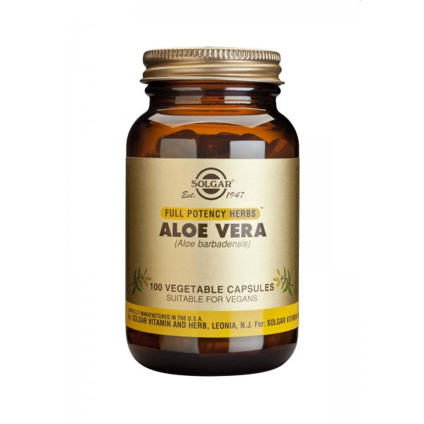 Solgar Aloe Vera veg 100 capsule