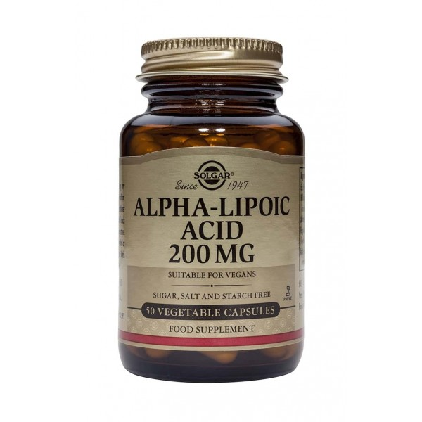 Solgar Alpha Lipoic Acid 200mg 50 caps