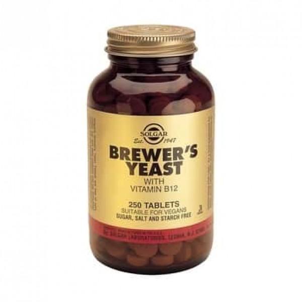 Solgar Brewers Yeast 500mg 250 tablete
