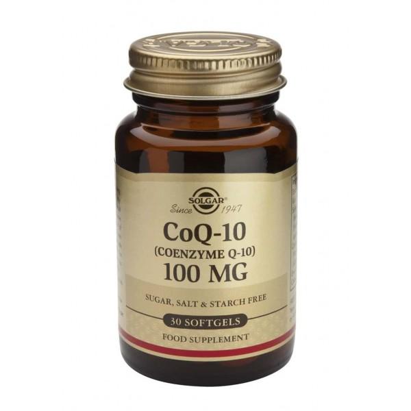 Solgar Coenzime Q-10 100mg 30 softgels