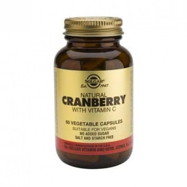 Solgar Cranberry Extract with Vit. C 60 cps