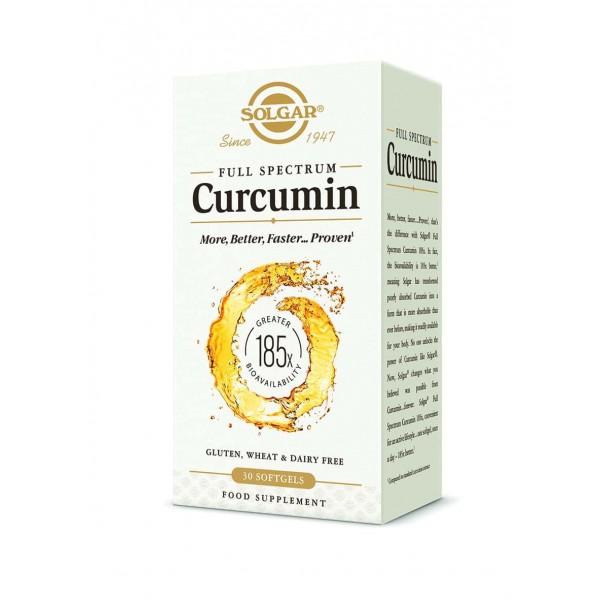 Solgar Curcumin Full Spectrum 30 capsule moi
