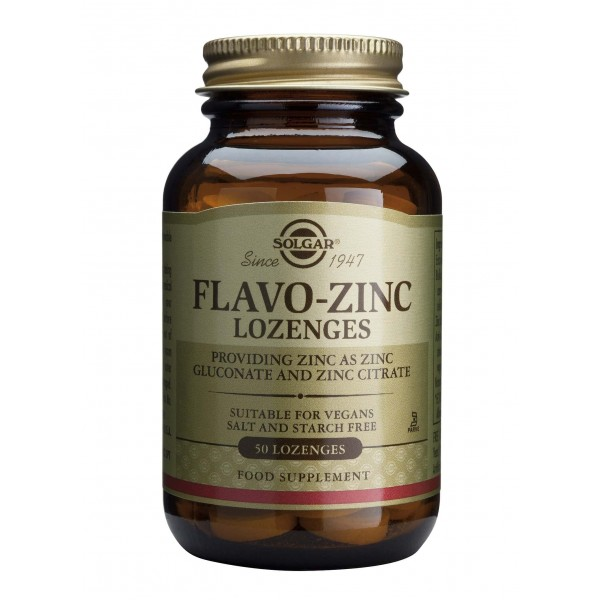 Solgar FLAVO ZINC 23mg 50 tablete