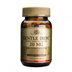 Solgar Gentle Iron 20mg 90cps