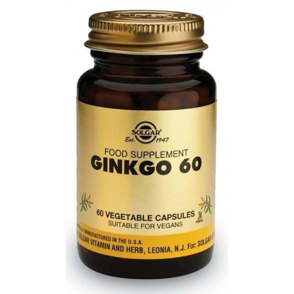 Solgar Ginkgo Biloba 60, 60 capsule