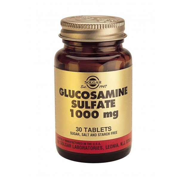 Solgar Glucosamine Sulfate 1000mg 60 tablete
