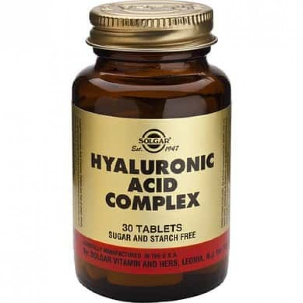 Solgar Hyaluronic Acid Complex 120mg 30 tablete