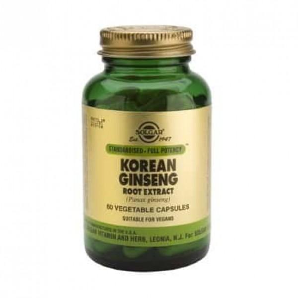 Solgar Korean Ginseng Root Extract 60 cps