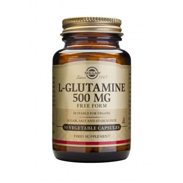 Solgar L-Glutamine 500mg 50 veg caps
