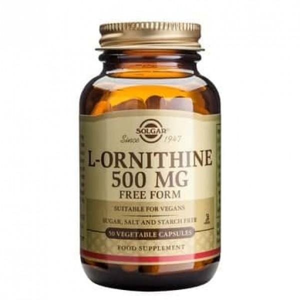 Solgar L-ORNITHINE 500mg 50 cps