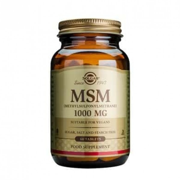 Solgar MSM 1000mg 60 tablete