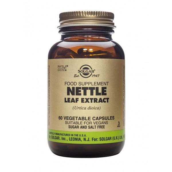 Solgar NETTLE LEAF EXTRACT 60 veg caps