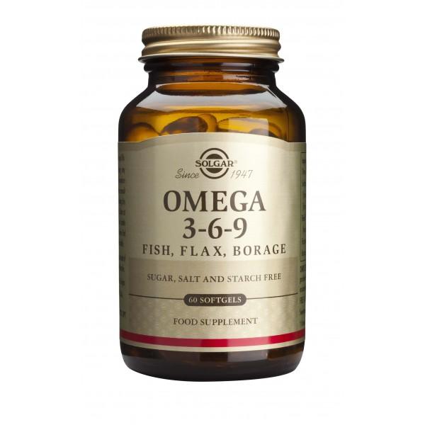 Solgar Omega 3-6-9 60 cps