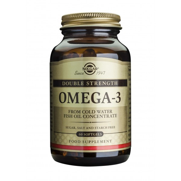 Solgar Omega-3 dublu concentrate- 60 cps