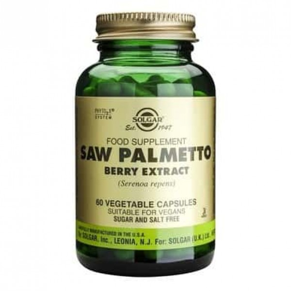 Solgar Saw Palmetto Berry Extract 60 cps