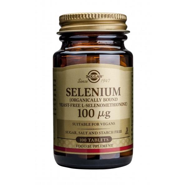 Solgar Selenium 100ug 100 tablete