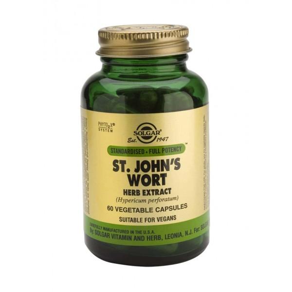 Solgar SFP ST. John's Wort Herb Extract 60 veg. cps