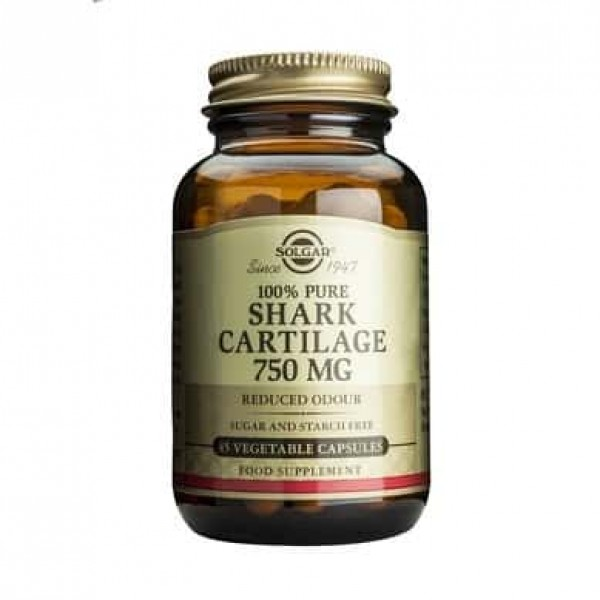 Solgar Shark Cartilage 750mg 45 cps