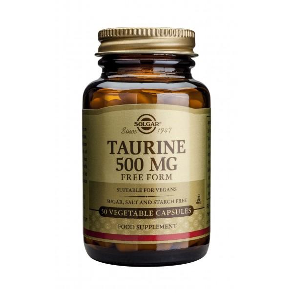 Solgar Taurine 500mg 50 veg caps