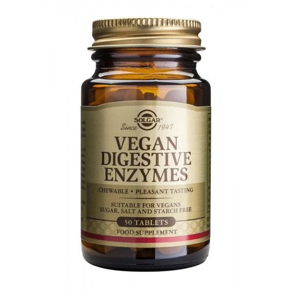 Solgar Vegan Digestive Enzymes 50 tab.