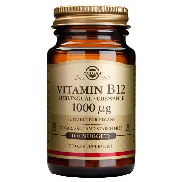 Solgar Vitamin B-12 1000g 100tablete