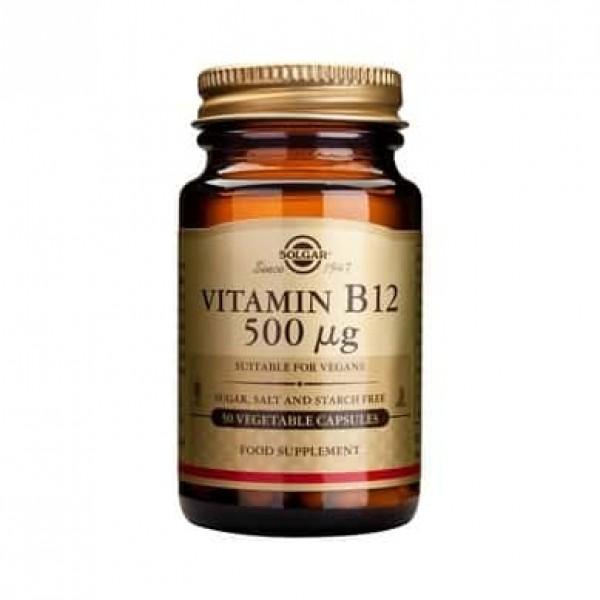 Solgar Vitamin B-12 500g 50cps
