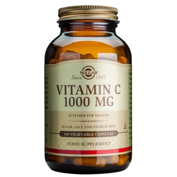 Solgar Vitamin C 1000mg 100cps