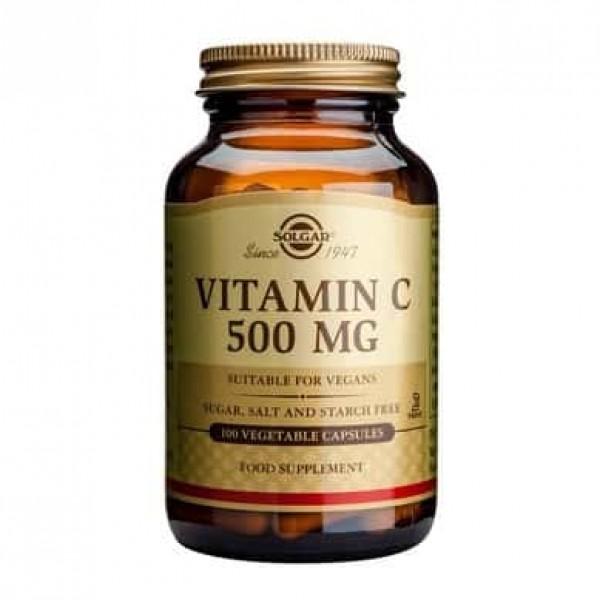 Solgar Vitamin C 500mg 100 cps
