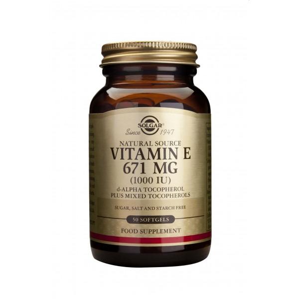 Solgar Vitamin E 1000ui 50 capsule