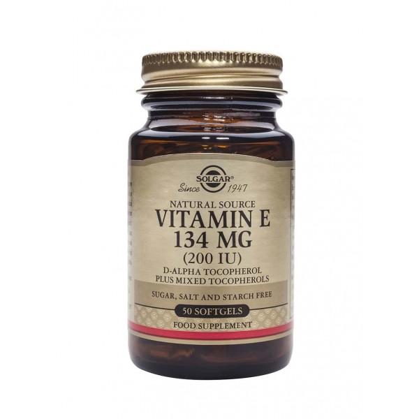 Solgar Vitamin E 200IU 50 capsule