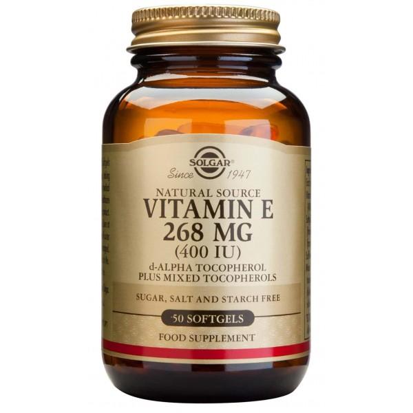 Solgar Vitamin E 400ui 50 cps