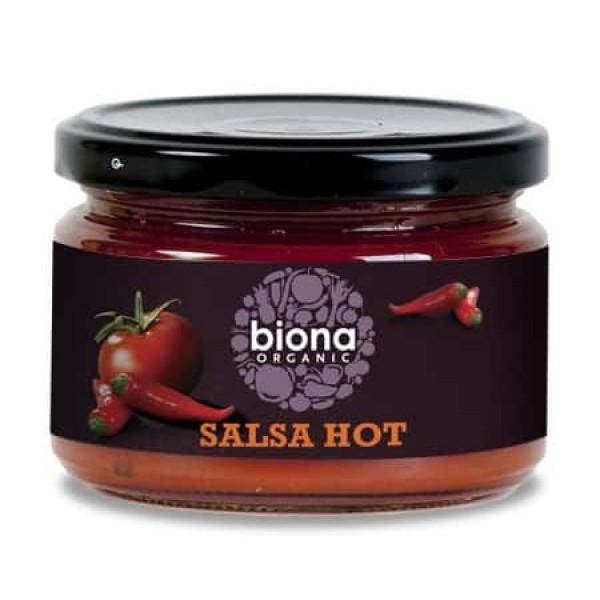 Sos salsa dip hot bio 260g, Biona