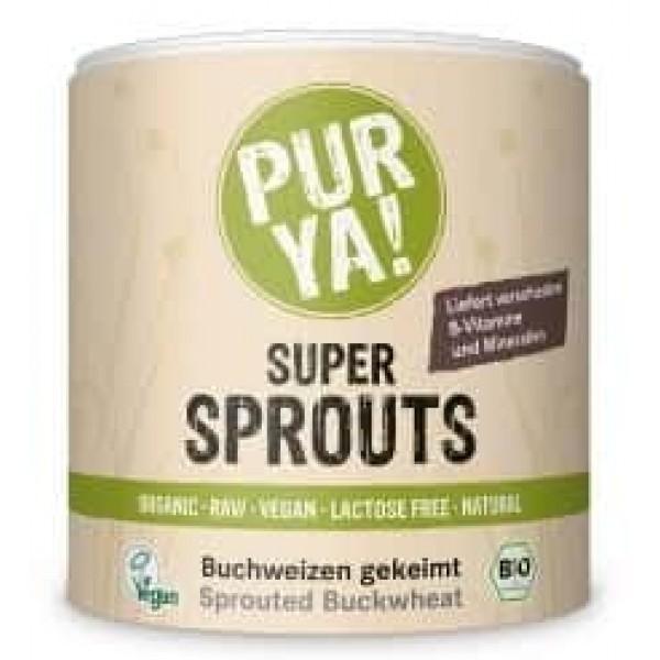 Super Sprouts hrisca germinata raw bio 220g