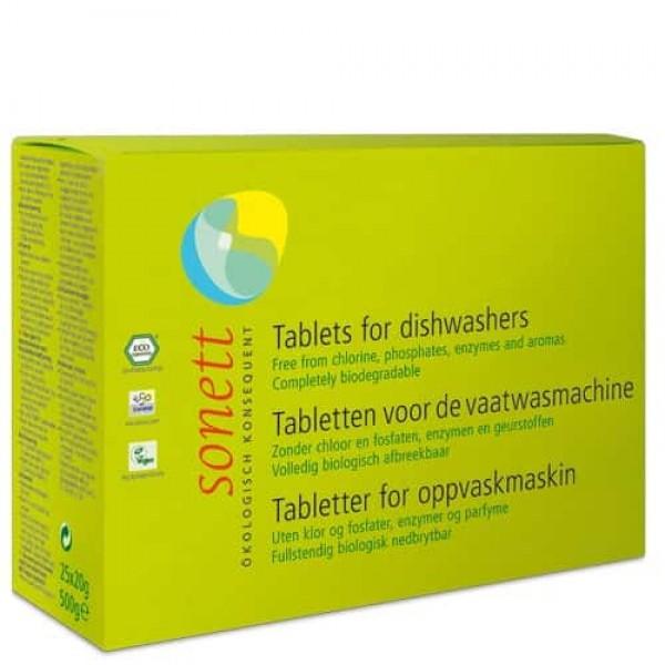 Sonett Tablete ecologice pt. masina de spalat vase 500g