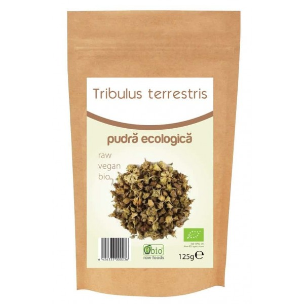 Tribulus Terrestris pulbere bio 125g