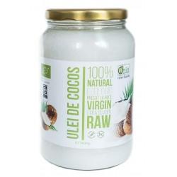Ulei de cocos virgin raw bio 1400g