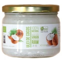 Ulei de cocos virgin raw bio 250g