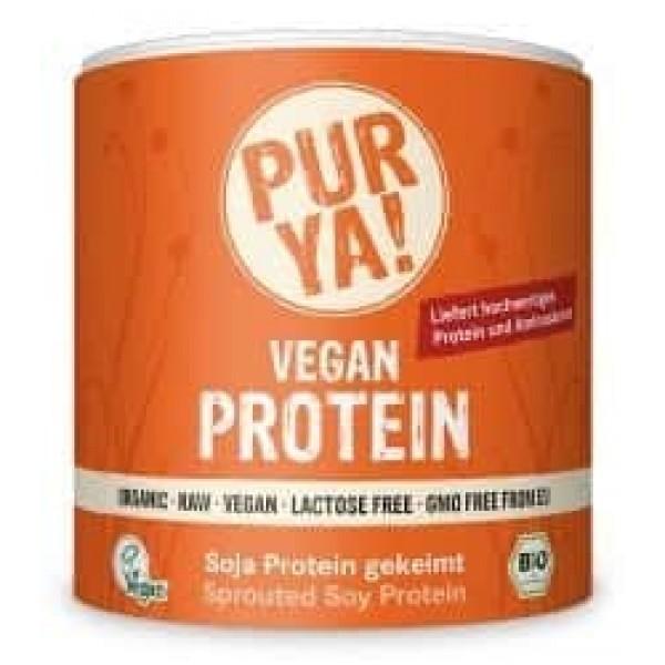 Vegan Protein din soia germinata raw bio 250g
