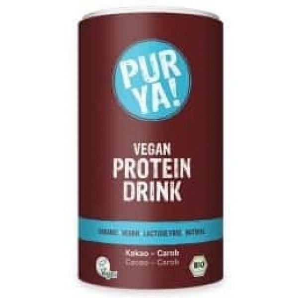 Vegan Protein Drink cacao-carob bio 550g