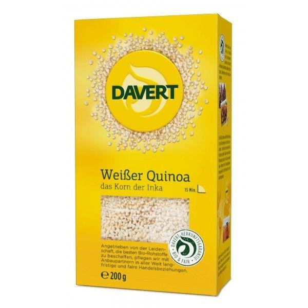 Quinoa alba bio 200g, Davert