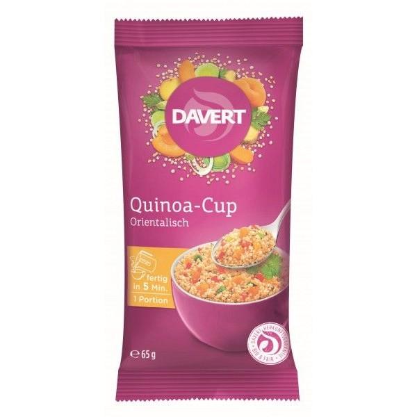 Davert Quinoa cup oriental-style bio 65g
