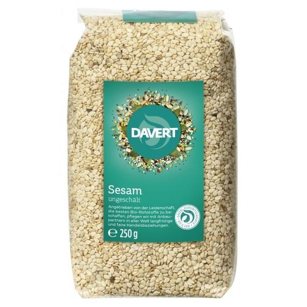 Davert Seminte de susan integral raw bio 250g