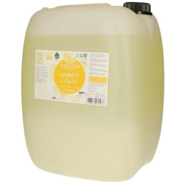 Detergent ecologic lichid vrac pentru rufe albe si colorate portocale 20L
